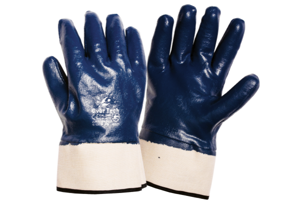 NBR Gloves m. Krage